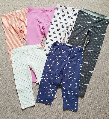 Girls Pant Clothing Bundle - Country Road Seed Target - Assorted Bottoms - Sz 7