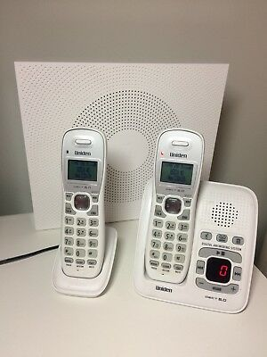 UNIDEN DECT1635WH+1 WHITE DIGITAL PHONE SYSTEM POWER FAILURE BACKUP Wi-Fi FRIEND