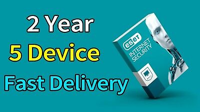 Eset Internet Security 2018 2year 5 Device 100% Original fast delivery