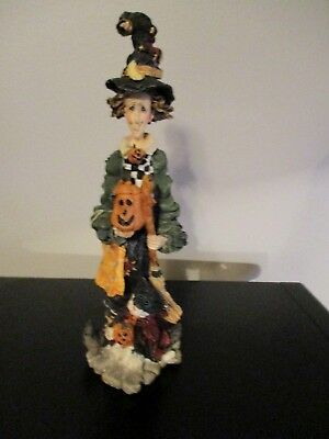 Boyds Bears Halloween Folkstone Esmeralda the Wonderful Witch