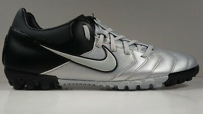 Nike Mens Rare NIKE5 BOMBA PRO Turf Soccer Shoes 415119-001 Grey Black Size 8