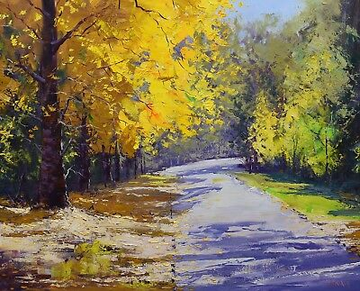 Large painting, autumn, Landscape Painting, oil painting, canvas  painting, tree
