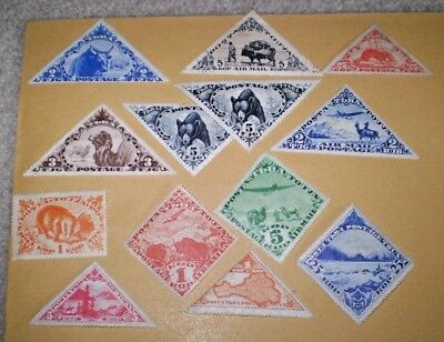 Tannu Tuva - a small selection of stamps