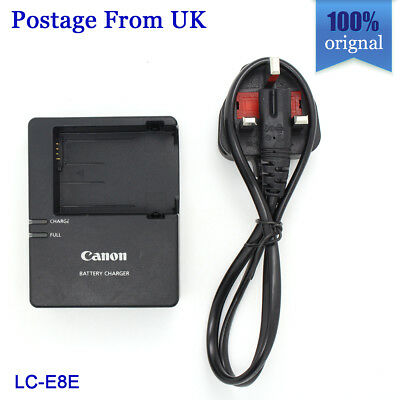 Genuine Original Canon LC-E8E Charger for LP-E8 EOS 550D/600D/650D/700D/Kiss X4