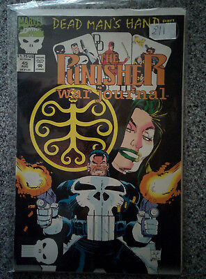 The Punisher - War Journal - Marvel Comics #45 dated 1992