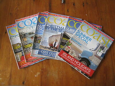 Coast Magazine-Homes/house/lifestyle/interiors-Summer to Dec  6 Issues 2017