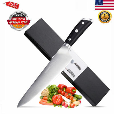 Multifunction German stainless steel Kitchen Chef's Steak Blade Sharp Edge Knife