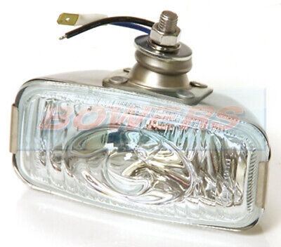 12V Polished Stainless Steel Reverse Lamp Light Classic Car Mini Kit Car