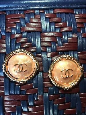 Chanel Buttons 2 Pieces Set 25 mm