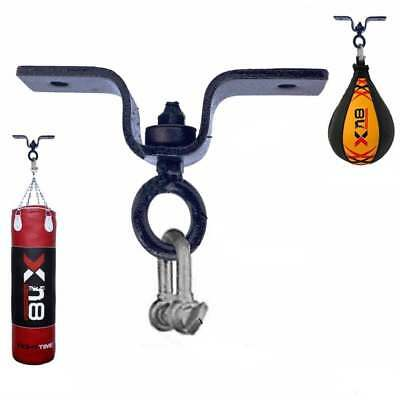 Punch Bag ceiling 360 degree Swivel Hook MMA Kick Boxing wall Bracket Black