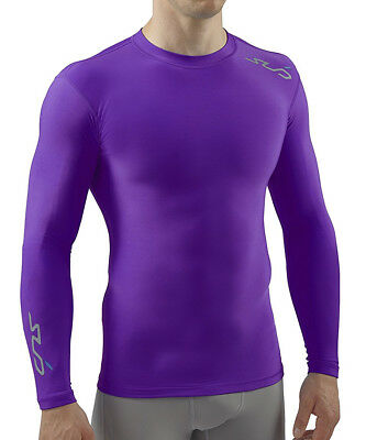 Sub Sports Cold Thermal Compression Baselayer Mens Top - Purple