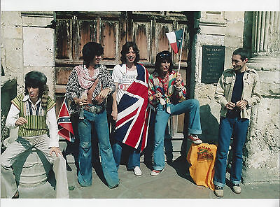The Rolling Stones 8x10 color  photo take at the Alamo in Texas