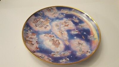 "Franklin Mint ""Heavenly Days"" By Bill Bell Limited Edition Collectors Plate"