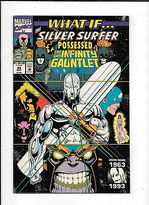 What If #49 ==> Nm- Silver Surfer / Infinity Gauntlet 1993 Marvel Comics