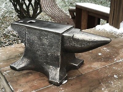 VERY CLEAN - 50 Lb Blacksmith ANVIL - Forge - Unmarked - NR