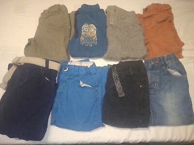 Boys clothes bundle 2-3 years, trousers, bottoms, jeans, cords with belt