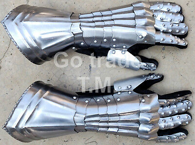 Medieval Spartan Guantlets Knights Costume Armor Gloves X-Mas/christmas Gift