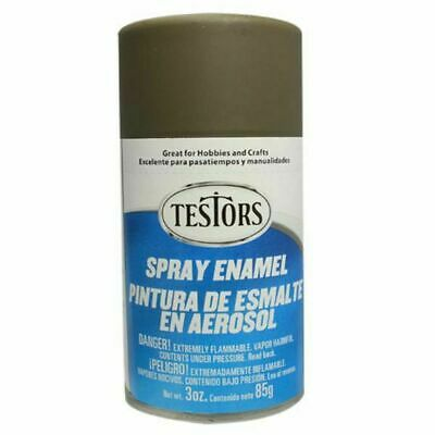 Testors Flat Olive Drab Enamel Spray Paint Can 3 Oz 1265 5 51
