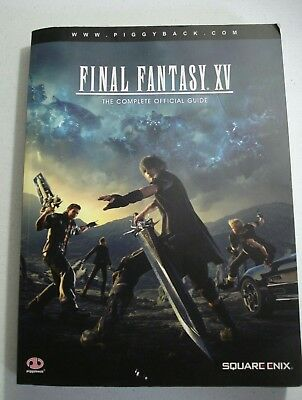 Final fantasy XV: The Complete Official Guide Used
