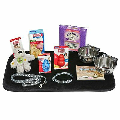 Midwest Puppy Starter Kit Medium Includes bowls, collar,toys and more - PUPKIT-M