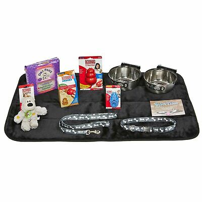 Midwest Puppy Starter Kit Medium Includes bowls, collar,toys and more - PUPKIT-L