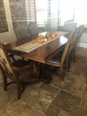 Stanley Furniture 10 Piece Dining Room Set Santa Barbara Collection