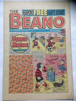 DC Thompson THE BEANO Comic. Issue 2380. February 27th 1988. **Free UK Postage**