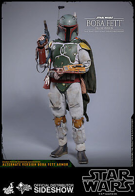 Hot Toys Boba Fett Deluxe 1/6 Figure Episode 5 Empire Strikes Back 903352 MMS463