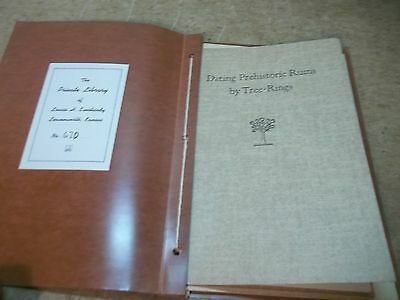 2 1930's Bulletins Dating Prehistoric Ruins etc Louise Everhardy Lawrence KS