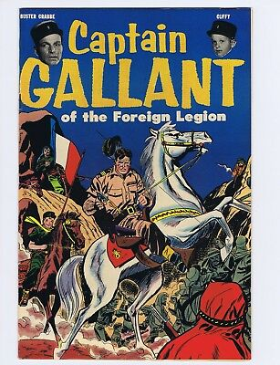 Captain Gallant Heinz 1955 Comic Giveaway SHARP! Buster Crabbe Cuffy (c#21190)