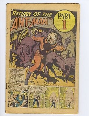Tales to Astonish 35 COVERLESS Marvel 1962 2nd ANT-MAN! 1st COSTUME! (c#21246)