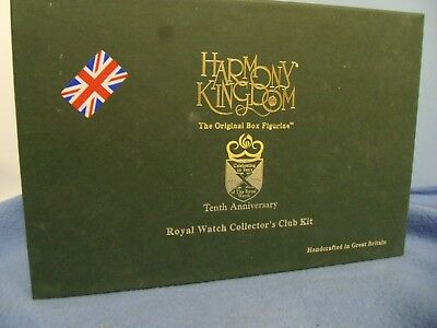 Royal Watch 2005  Tenth Annv   Harmony  Kingdom   In Orig Box From Store Stock
