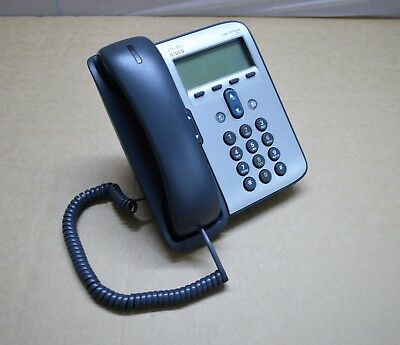 CISCO CP-7911G Unified VoIP IP Phone w/ Stand and Handle