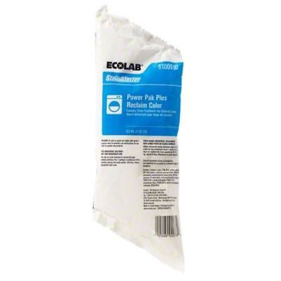 Ecolab 6100910 StainBlaster Power Pak Plus Reclaim Color, 1lb pack, 12/cs