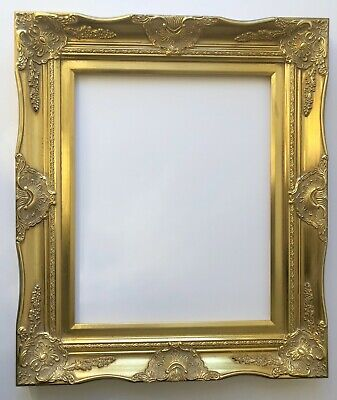 Picture Frame- 12x16 Vintage Antique Style Baroque Classic Gold Ornate #6996G