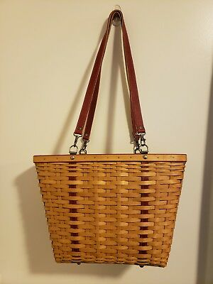 Longaberger 2004 Mothers Day Weekend Tote Basket Combo