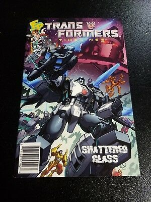 Transformers BOTCON 2008 Timelines Comic Book Issue #3 Shattered Glass Universe