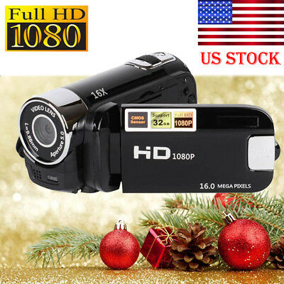 Full HD 1080P 16MP 16X ZOOM Digital Video Camcorder Camera DV Video CAM DVR