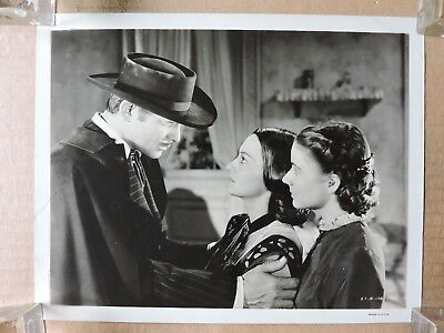 Clark Gable Ann Rutherford and Evelyn Keyes orig photo 1939 Gone with the Wind