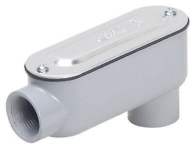 RACO INCORPORATED 3/4-Inch Threaded Oval Conduit Body RLB075