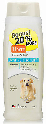 HARTZ MOUNTAIN CORPORATON 18OZ Dandruff Shampoo 3270015463