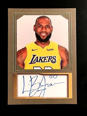 LEBRON JAMES RARE Photo / Auto Custom Art Card. ACEO