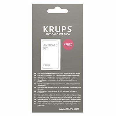 KRUPS F054 Descaling Powder for Kettles Coffee and Espresso Makers Fully Auto