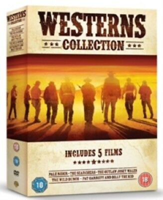 Western 5 Film Collection Clint Eastwood Pale Rider Searchers Outlaw Jose R4 DVD