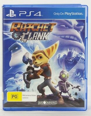 Ratchet & Clank Sony Playstation 4 game PS4 Like New MINT condition