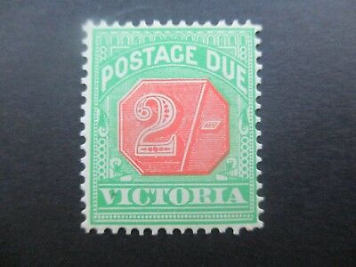 Victoria Stamps: Postage Dues 1894 Mint   (x12}