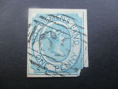 Tasmania Stamps: 1d Courier Used - Great Item    (x1}