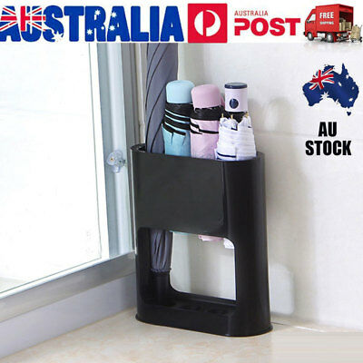 Umbrella Stand Rack Free Stand Organizer & Drip Tray for Hallway Entryway Office