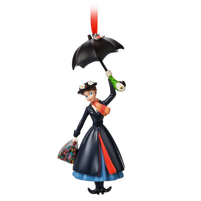 MARY POPPINS~BOXED~Ornament~Parrot~Sketchbook~Christmas~NWT~Disney Store~2018