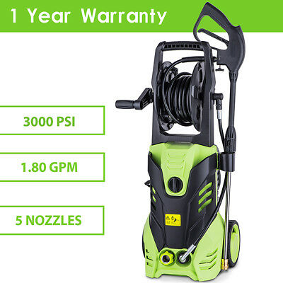 TOP 3000PSI High Power Water Electric Pressure Washer 1.7 GPM Cleaner Machine